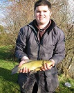 How's this for a beginner - a lovely tench in JANUARY?