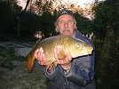 Malcolm Walker of Aintree, Liverpool with his pb of 7lb 1oz