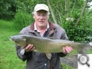 Phil from Llampeter with an 14lb Grassie