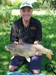 Paul Owen with his 11lb Common