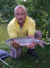 Local angler, A smidgeon under 2lb Chub caught in Main Lake
