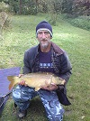 A lovely Mirror caught by an unknown angler of about 10lb from the Main Lake
