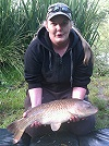 Fallon's PB of an 8lb Common