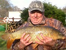 Trevor with a 22lb Common