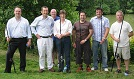A photograph of some of Solicitor John Patterson's Corporate clients after their evening of Trout and Coarse Fishing