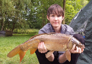 24hrs Angler, Keanu with his cracking hard fighting Common from Main Lake