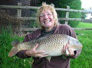 A Common Carp of 16lb from the Main Pool