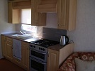 One half of the Kitchen area of Caravan #1