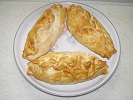 Photo of typical traditional Pasties, available to order