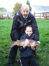 Best fish from members of a local Youth Club club after a thoroughly enjoyable evening